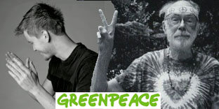 greenpeace hip en hippie