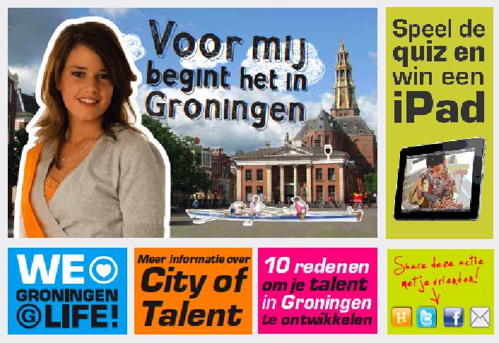 Groningen, City of Talent