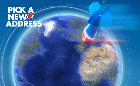 Pepsi Cola Pick a new asress