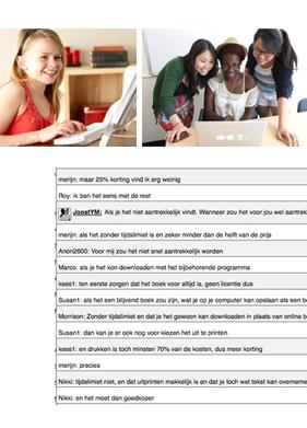 jongeren + participatie aanpak chat meer